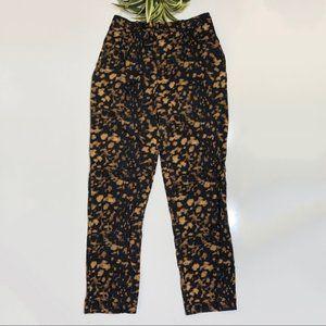 Madewell Women Black Spotshadow Pant Sz 0